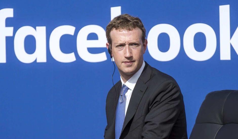 Facebook Mark Zuckerberg. données médicales. Il est revenu sur la fin d'année 2018 de Facebook et est fier