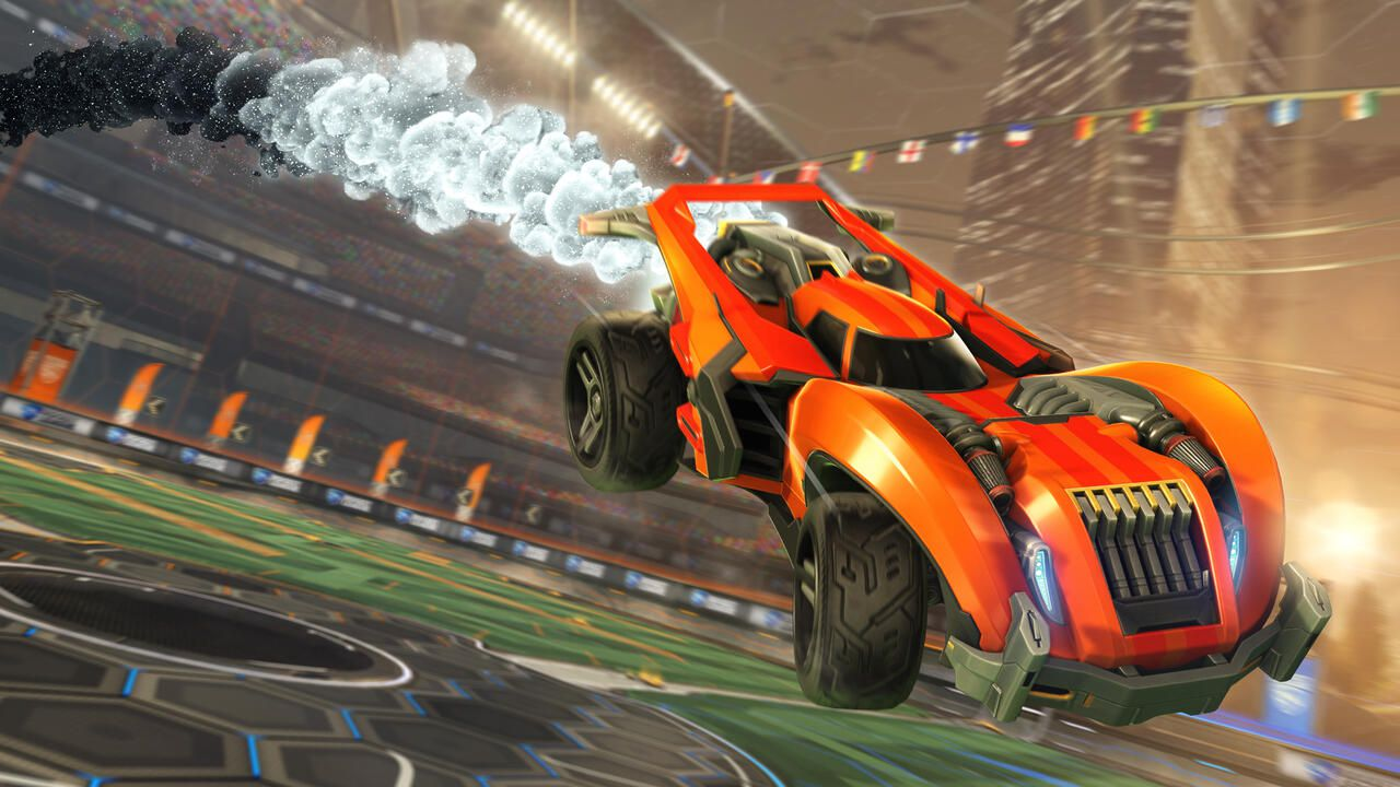 Présentation du Boost Faded Cosmos sur Rocket League