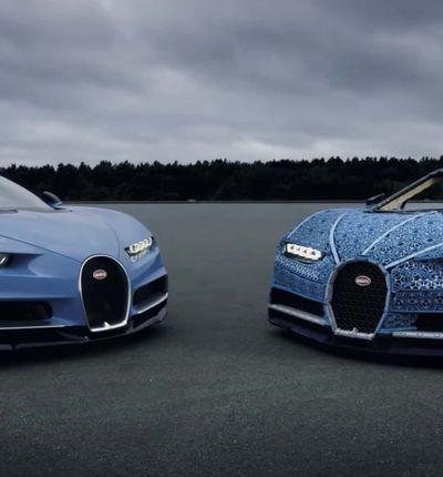 LEGO présente une Bugatti construite avec plus d'un million de pièces