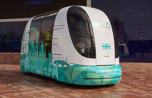 voitures autonomes UK
