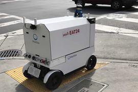 yelp robot livraison