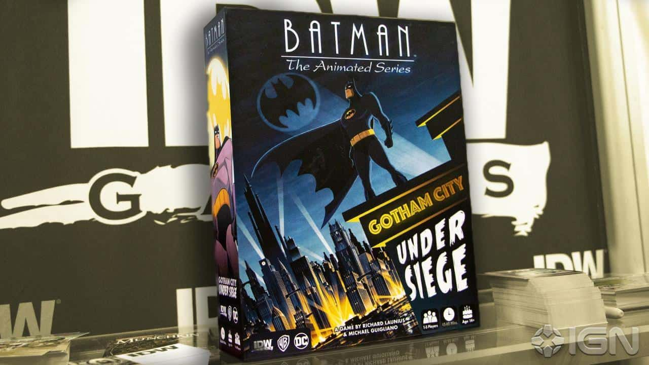 jeu de société Batman the animated series