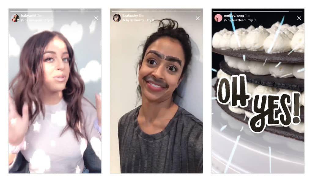 Instagram fait le plein de nouveautés : nouveaux filtres, conversations vidéos dans Direct