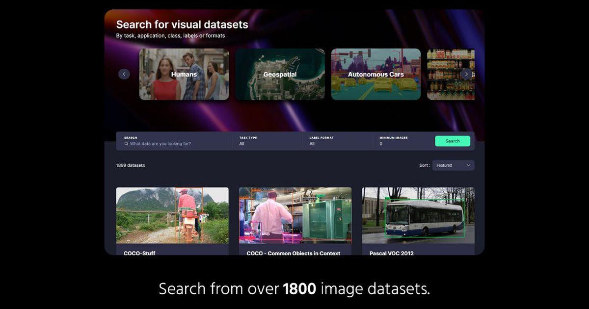 Cet outil offre des ensembles de données gratuits pour les projets de machine de learning