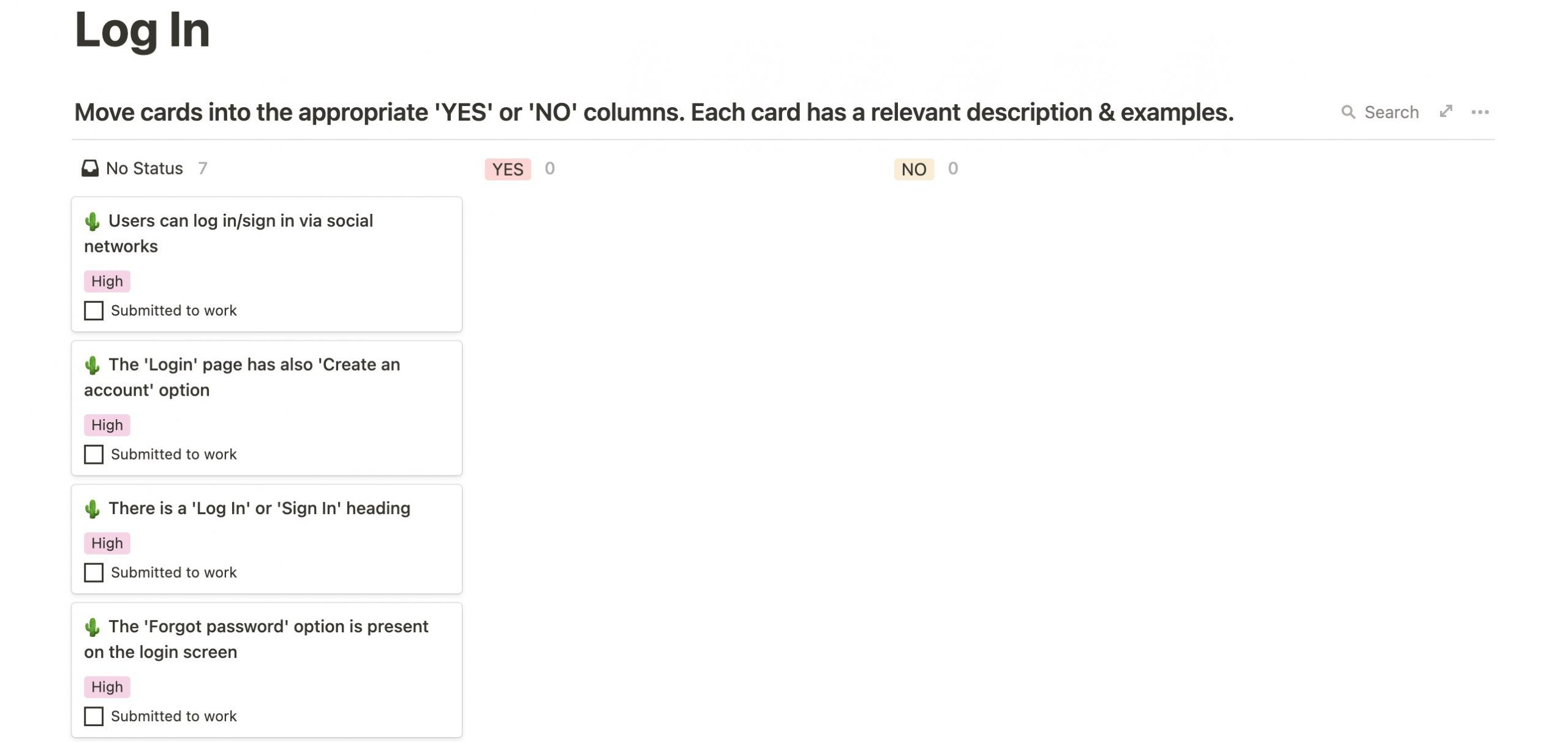 exemples de points à vérifier dans un audit UX
