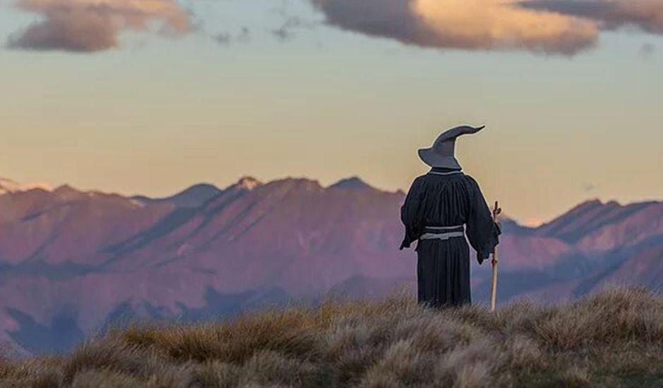 gandalf photographie terre du milieu en nouvelle-zélande