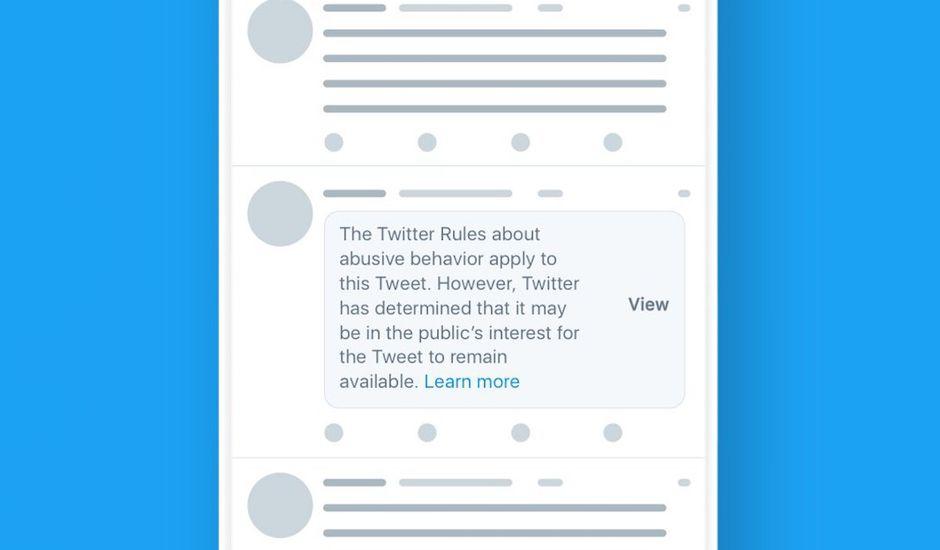 Twitter change ses règles