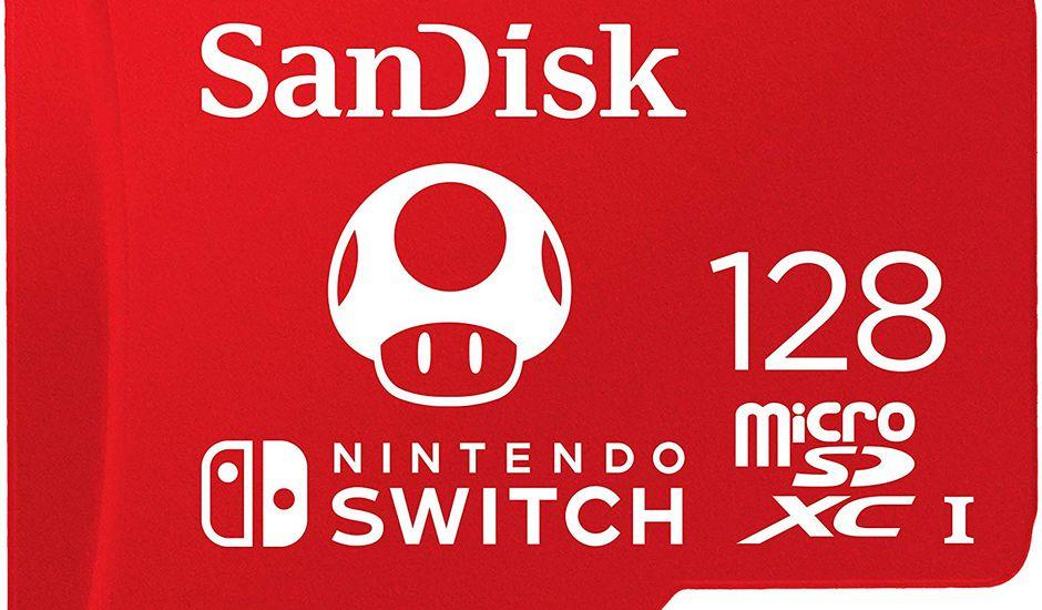 Une carte Micro-SD pour Nintendo Switch à moins de 36 euros pour gonfler votre stockage