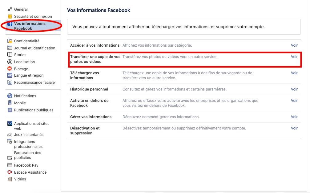 Comment accéder à la fonctionnalité de Facebook