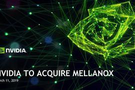 Nvidia a annoncé, ce lundi 11 mars, le rachat de l'équipementier israélien Mellanox pour une somme totale de 6,9 milliards de dollars. Il s'agit à ce jour de la plus grosse acquisition réalisée par le leader du GPU.