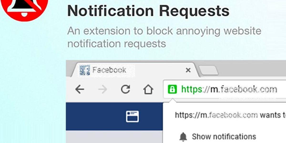 Cette extension Chrome vous permet de bloquer toutes les demandes de notification push