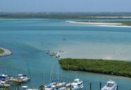Une île en Floride.