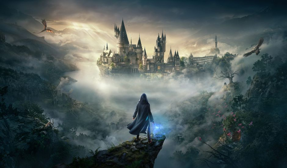 affiche hogwarts legacy sur console et pc