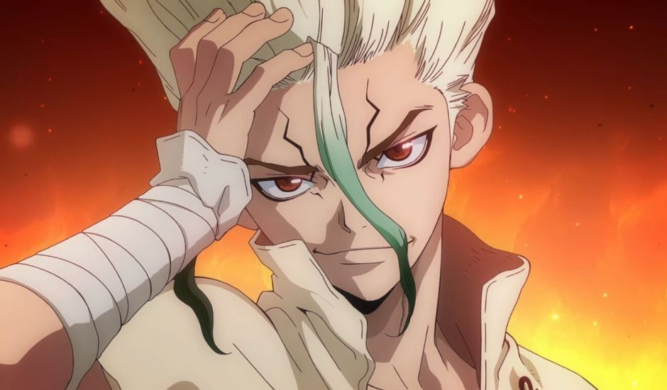 Senku Ishigami dans l'anime Dr Stone