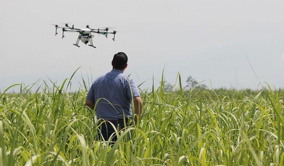 Les drones débarquent au-dessus de nos champs.