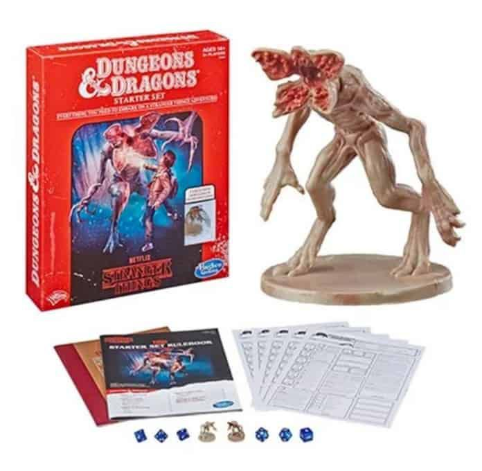 Set de jeu Donjons et Dragons Stranger Things