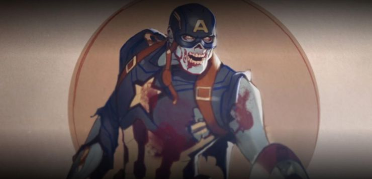 what if captain america zombie