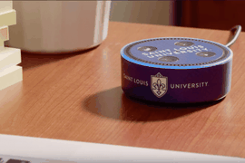 campus américain de Saint-Louis équipé en Amazon Echo Dot
