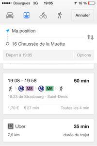 Maps+Uber