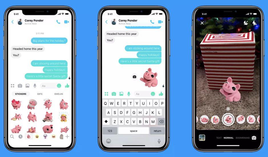 Messenger se dote de nouveaux modes et effets !