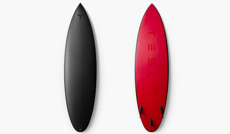Tesla planche de surf
