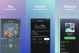La version de Spotify pour les marchés émergents est disponible.