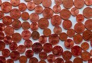 Des pièces rouges, ou des centimes d'euros