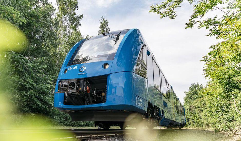 Le premier train fonctionnant à l'hydrogène est désormais sur les rails en Allemagne
