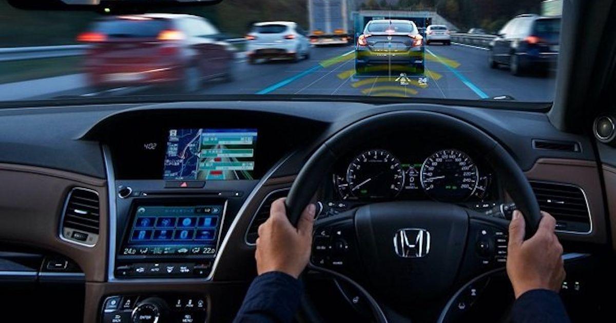 Aperçu du système de conduite autonome de Honda.