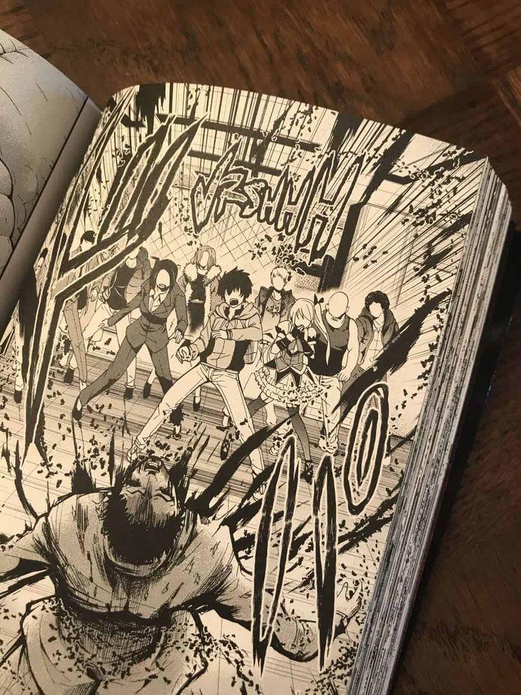 Planche du premier tome de Shibuya Hell