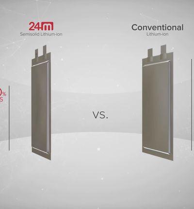 24 M produit une batterie moins chère et plus performante que ses concurrents
