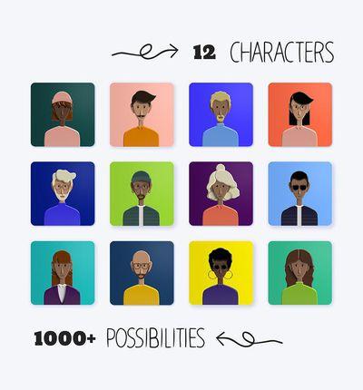 Power People Platform illustrations