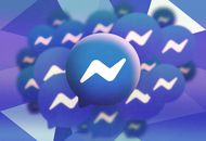 Illustration du logo de Facebook Messenger