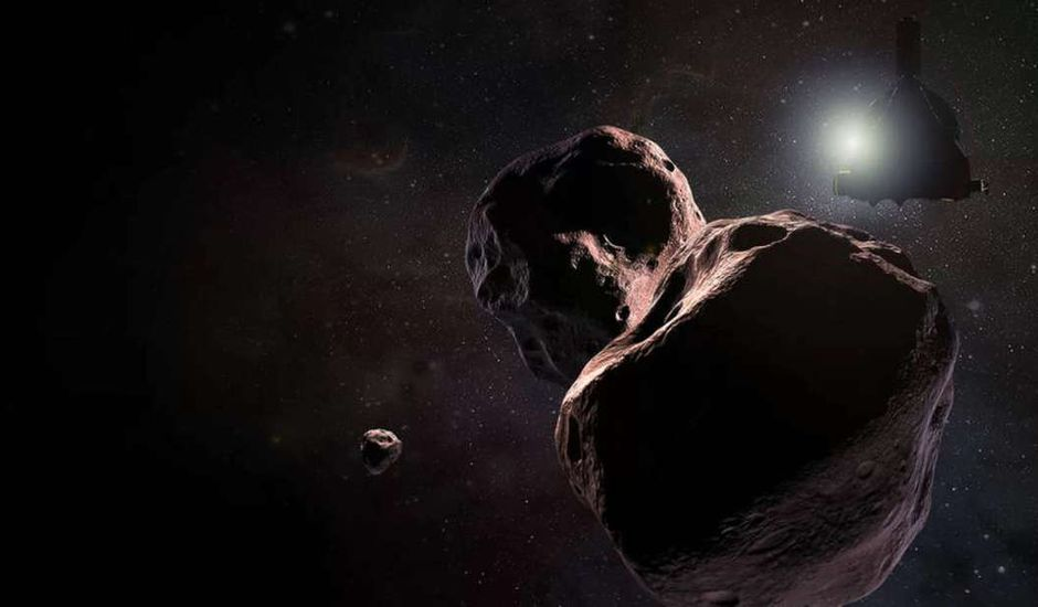 Dessin Ultima Thule rencontre New Horizons
