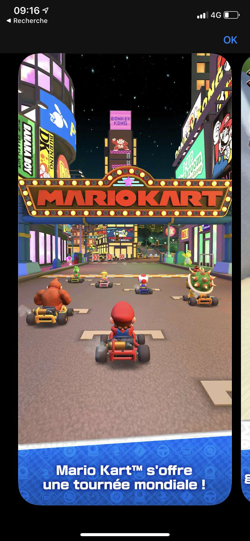 mario kart tour iphone courses
