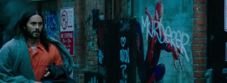 jared leto morbius spider man cameo murderer