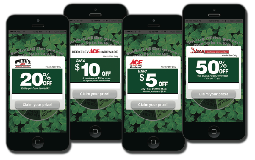 promotion gamification ace hardware retail distribution