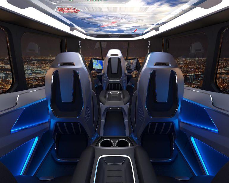 Le Bell Nexus sera le taxi volant proposé par Uber en 2020