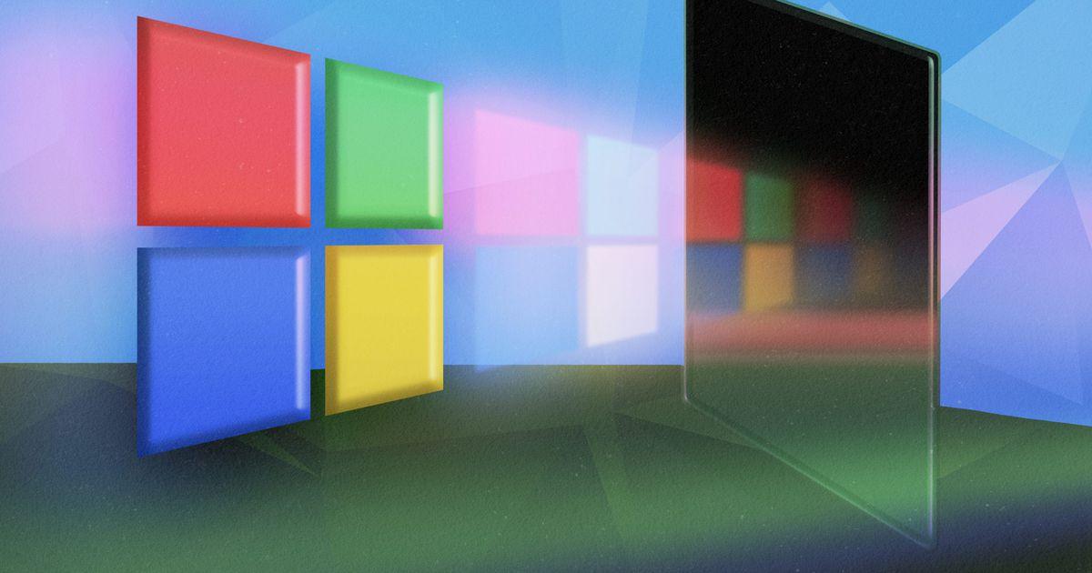 Illustration du logo de Microsoft