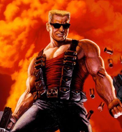 Image promotionnelle pour le jeu Duke Nukem 3D