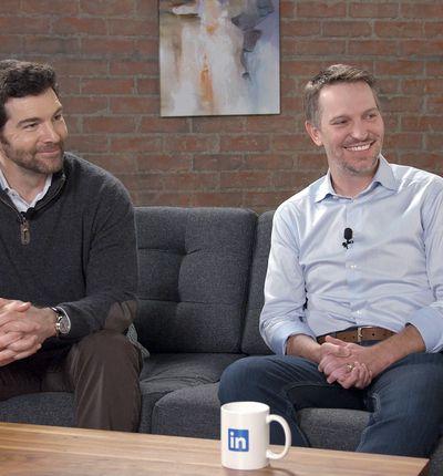 Jeff Weiner & Ryan Roslansky PDG linkedin