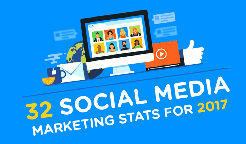 social media infographie 2017