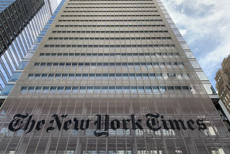 The New York Times blockchain