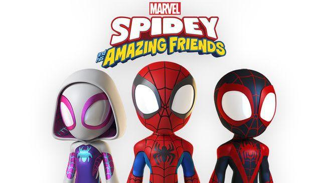 série animée spidey and his amazing friends