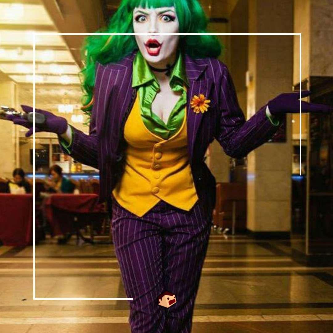 cosplay femme joker