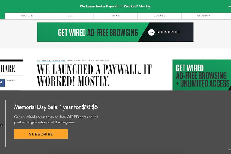 paywall Wired