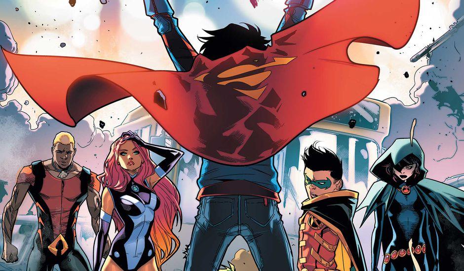 Super-Boy arrivera dans la saison 2 de Titans