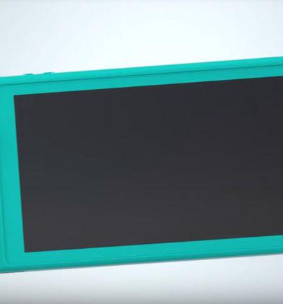 La nouvelle Nintendo Switch Lite
