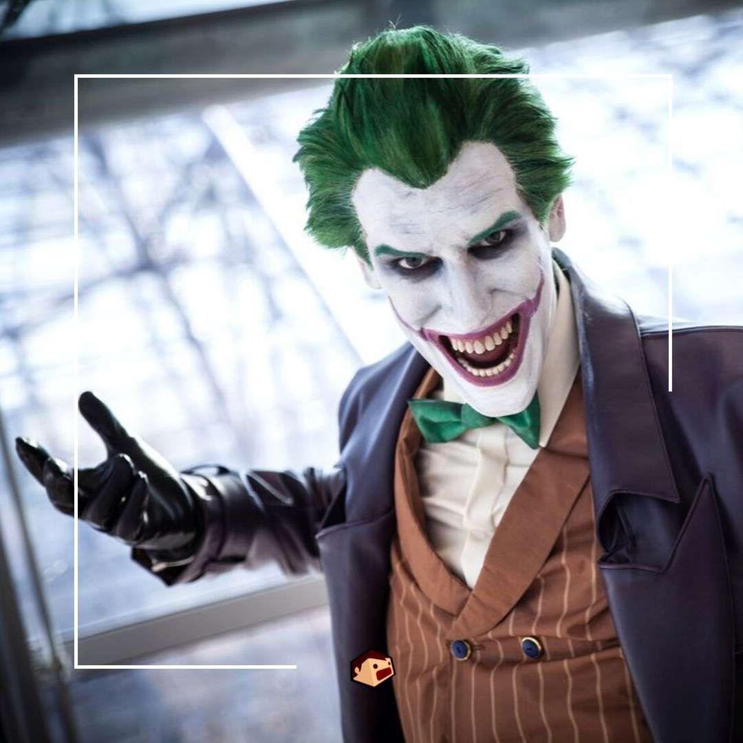 joker cosplay classique