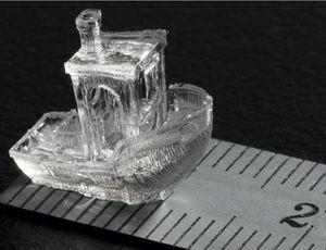 L'impression 3D basée sur la lumière ne prend que quelques secondes.